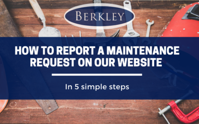 How To Report A Maintenance Request On Our Website in 5 Simple Steps