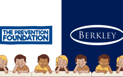 Berkley team up with the Prevention Foundation to provide local school with essential safety material.