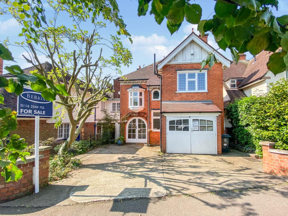 A beautiful period property sold by Berkley Estate & Letting Agents on Letchworth Road, Western Park, Leicester (Now Sold STC)