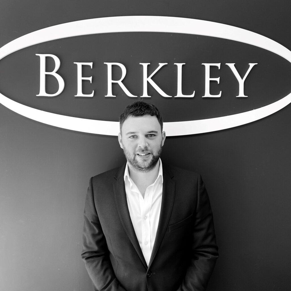 Sales Manager for Berkley Estate & Letting Agents Alex Broadley