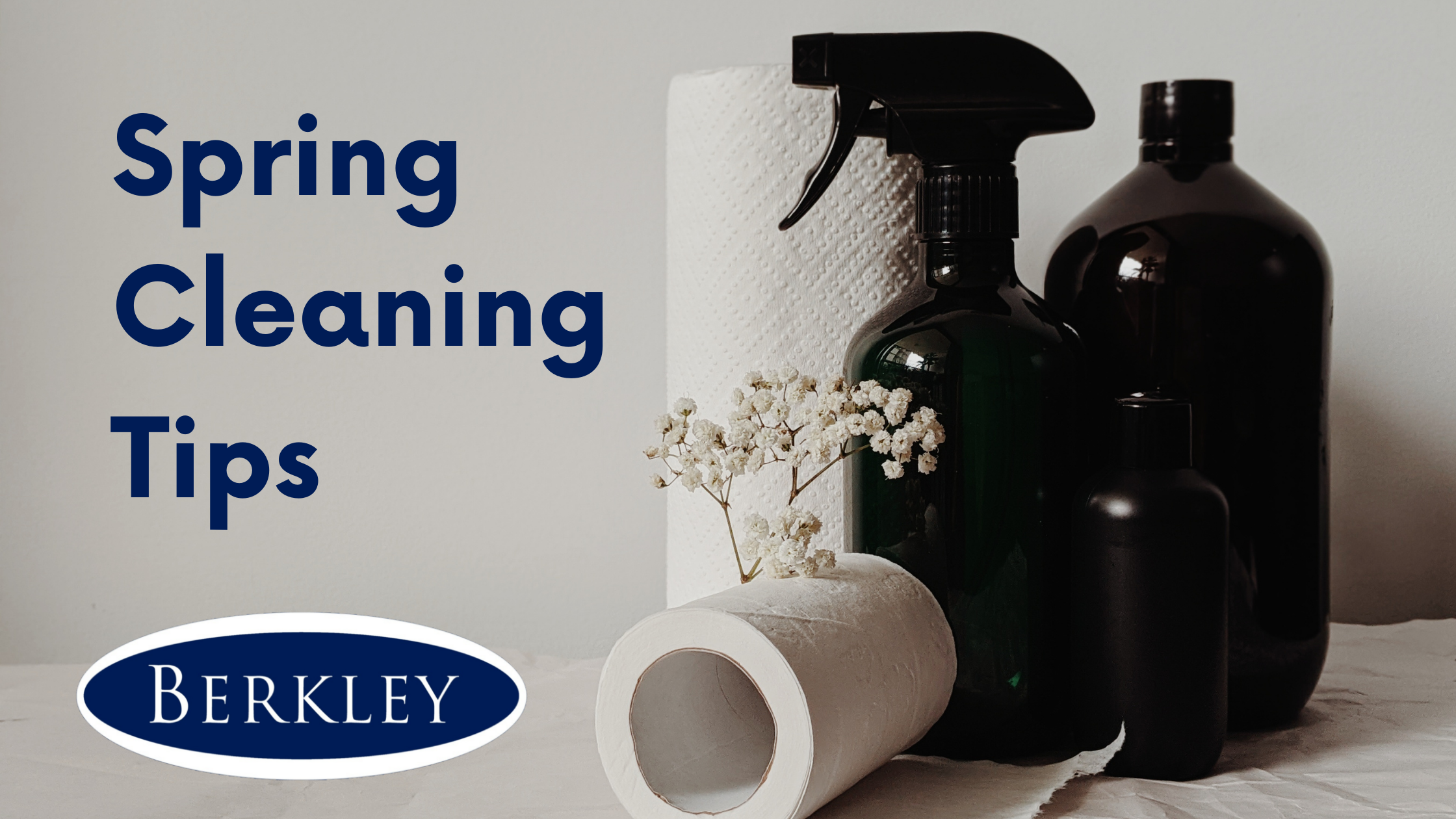 Berkley's Spring Cleaning tips this Easter